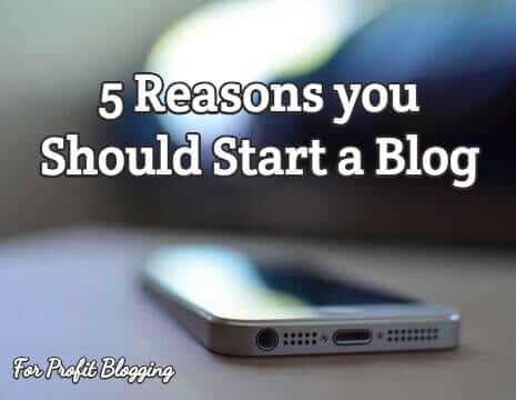 5 reasons you should start a blog