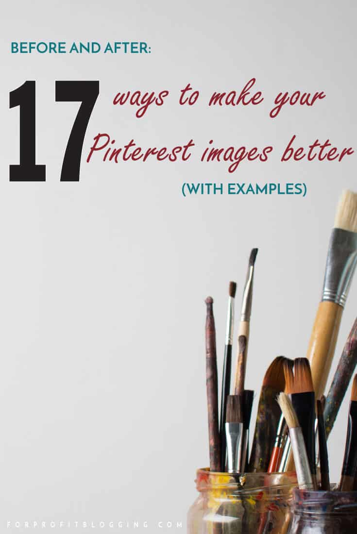 You know how powerful Pinterest can be. But maybe you don't know how to make better Pinterest images? Flip through these 17 examples. These Pinterest tips were so helpful, I love the visuals to make it obvious.