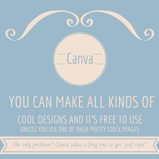 Make cool designs using Canva