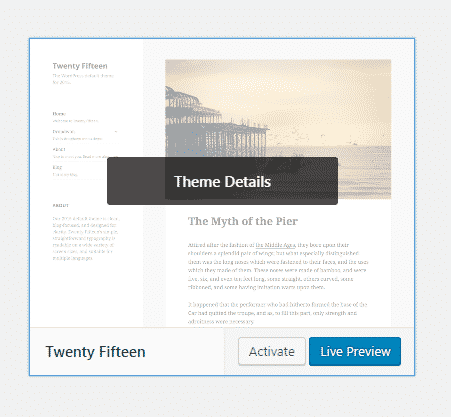 how-to-delete-a-wordpress-theme-theme-details