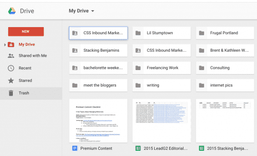 Google Drive: 45 tools every blogger needs -- For Profit Blogging