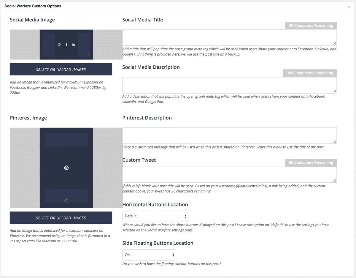 Social Warfare Plugin ForProfitBlogging