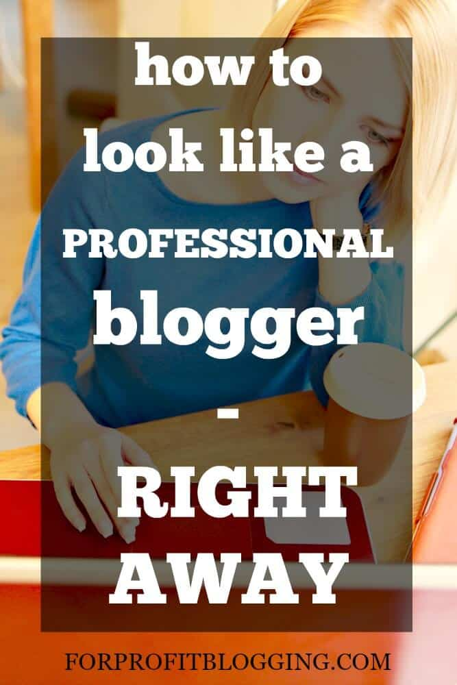 Starting my blog off right would have saved me so much time! Here's how to look like a professional blogger right away, not waste months and months.