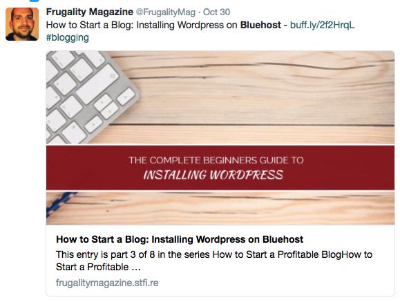 beginners guide to starting a wordpress blog