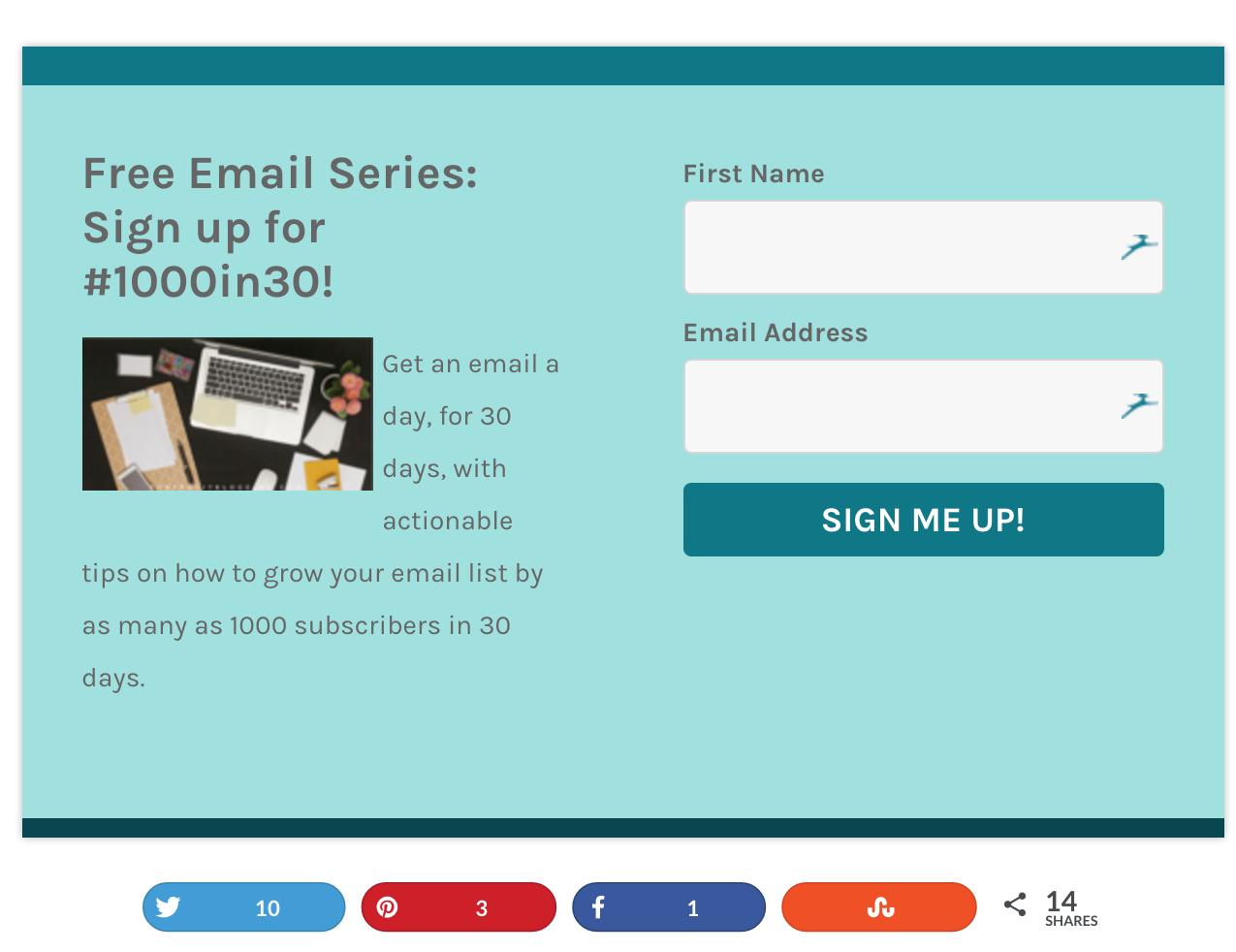 for profit bloggings default opt in