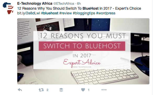 switch to bluehost