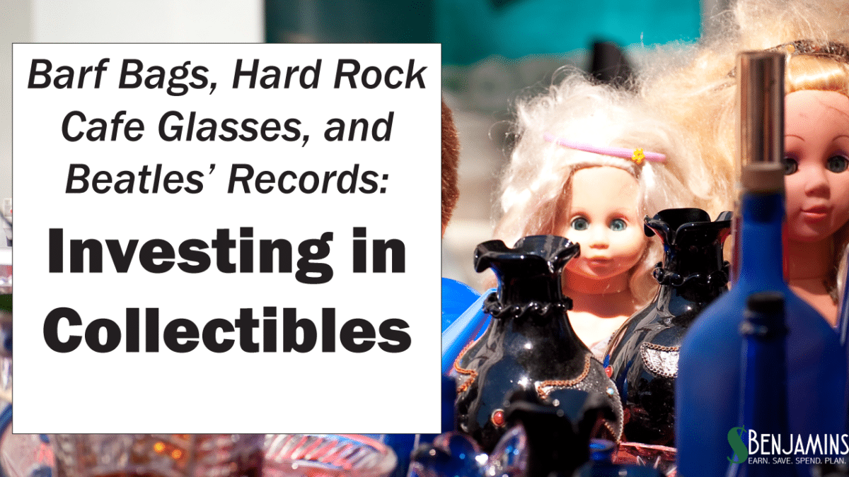 Barf Bags, Hard Rock Glasses and Beatles' Records – Investing in Collectibles
