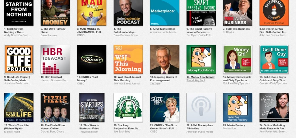 Check out who has the podcast just behind ours. Suze, if you ever need some podcasting tips, just let me know.