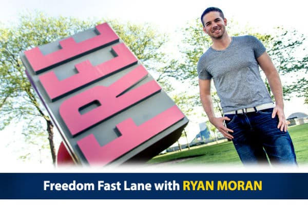 Ryan Moran Freedom Fast Lane Stacking Benjamins