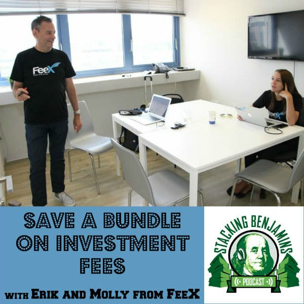 Erik Laurence and Molly O'Brien from Feex are guests on Stacking Benjamins