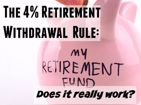 The 4 Percent Retirement Withdrawal Rule – Does It Really Work?