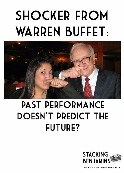 Shocker From Warren Buffett: Past Performance Doesn't Predict the Future?