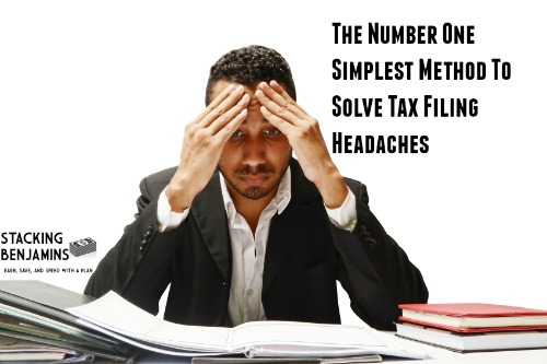 The Number One Simplest Method To Solve Tax Filing Headaches