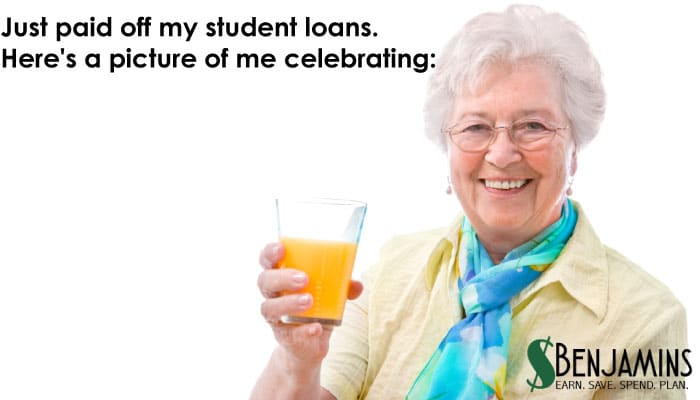 Paying off student loans?