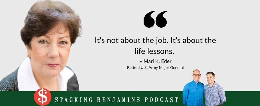 Stepping Out of Line (with Major General Mari K. Eder, Retired)