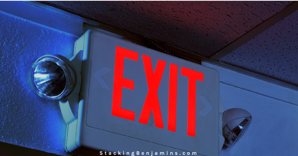 Do You Need a Stock Market Exit Plan?