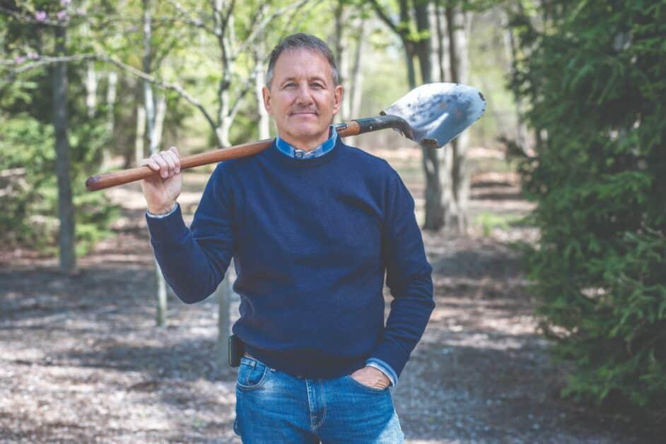 Ken Rusk photo, Blue-collar millionaire