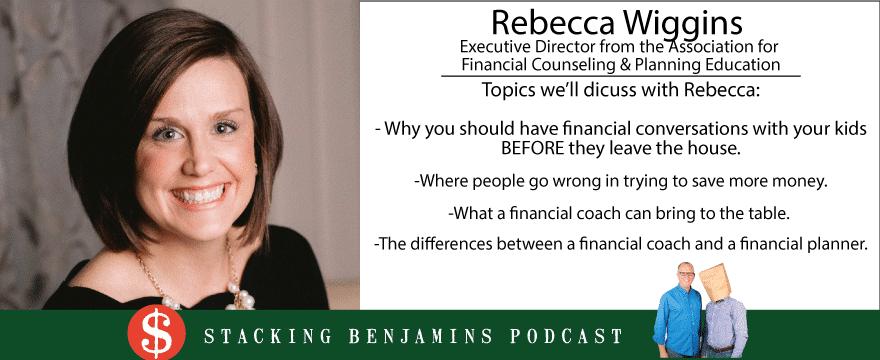 picture of rebecca wiggins, featured guest, financial coach