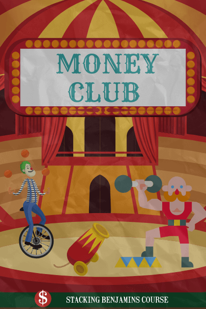 Money Club Circus Poster