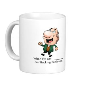 Stacking Benjamins mug